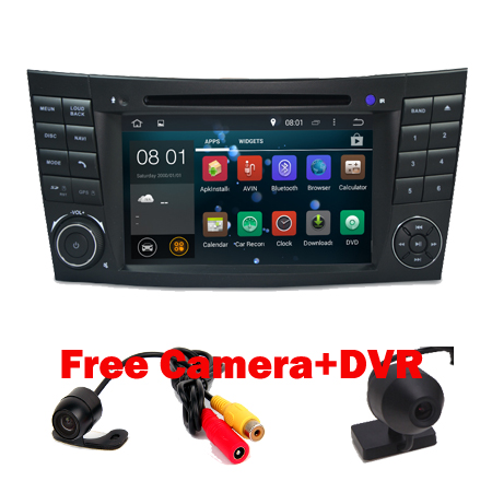 free camera map android car radio gps for mercedes benz e. Black Bedroom Furniture Sets. Home Design Ideas