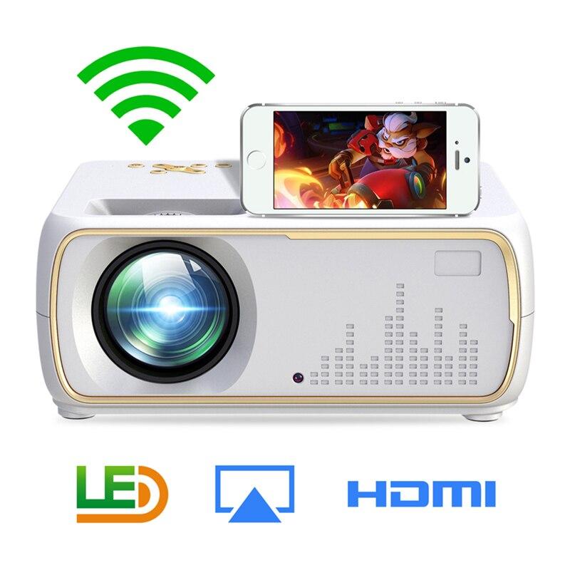 Tout le monde GainA20 données montrent Mini Projetor Para celulaire pas cher TV Projecteur Home Cinema Projecteur Support câblé Sycn LED Projecteur