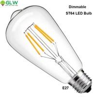 LED Bulb 4W Antique LED Bulb Led Filament Lighting Bulb Filament Light Bulb 40W Equivalent Light