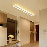 Modern minimalism High brightness LED Ceiling Lamp lighting living room bedroom Chandelier rectangular ceiling lamps