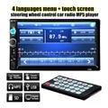 2016 Doble 2 DIN Car Audio Bluetooth $ number pulgadas HD de Radio En Pantalla Táctil de la rociada Estéreo MP3 Mp5 7010B USB Volante Control
