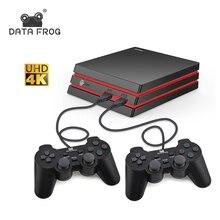 Veri Kurbağa Retro video oyunu Konsolu Destek HDMI TV Out dahili 600 Klasik Oyunlar Çift Oyuncular Için MAME Oyunları