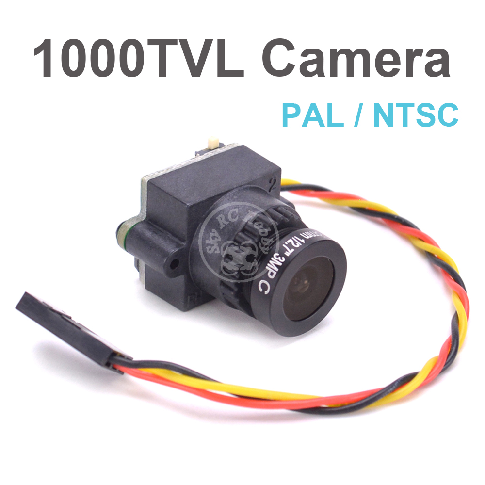 RC FPV 1000TVL 2.8mm 3MP Mini Digital Video Audio Camera FPV-1000TVL 1000 Line N/P Pattern For Aerial Photography