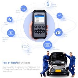 Image 2 - Autel ML629 OBD2 Auto Scanner Diagnostic Tool ABS SRS Car Diagnostic  obdii obd ii Scanner Eobd Automotivo Car Scan tools