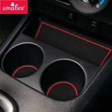 Gate slot Mats For Toyota Hilux SR5 4x4 REVO Hi-Rider Manual 2015-2016 Non-slip Interior Door Pad/Cup mats