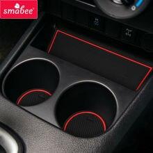 Gate slot Mats For Toyota Hilux SR5 4x4 Hilux REVO Hi-Rider Manual  2015-2016 Non-slip  Interior Door Pad/Cup Non-slip mats