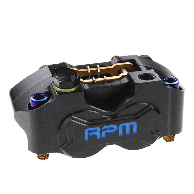 New Motorcycle Rpm Brake Caliper Brake Pump 82mm Mounting 4 Piston Radial For Yamaha Kawasaki Scooter Dirt Bike Modify