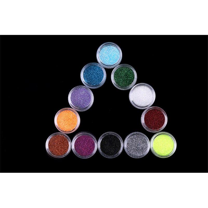 12 Colors / lot Жайлайтын Tail Glitter Pigment Chameleon - Маникюр - фото 3