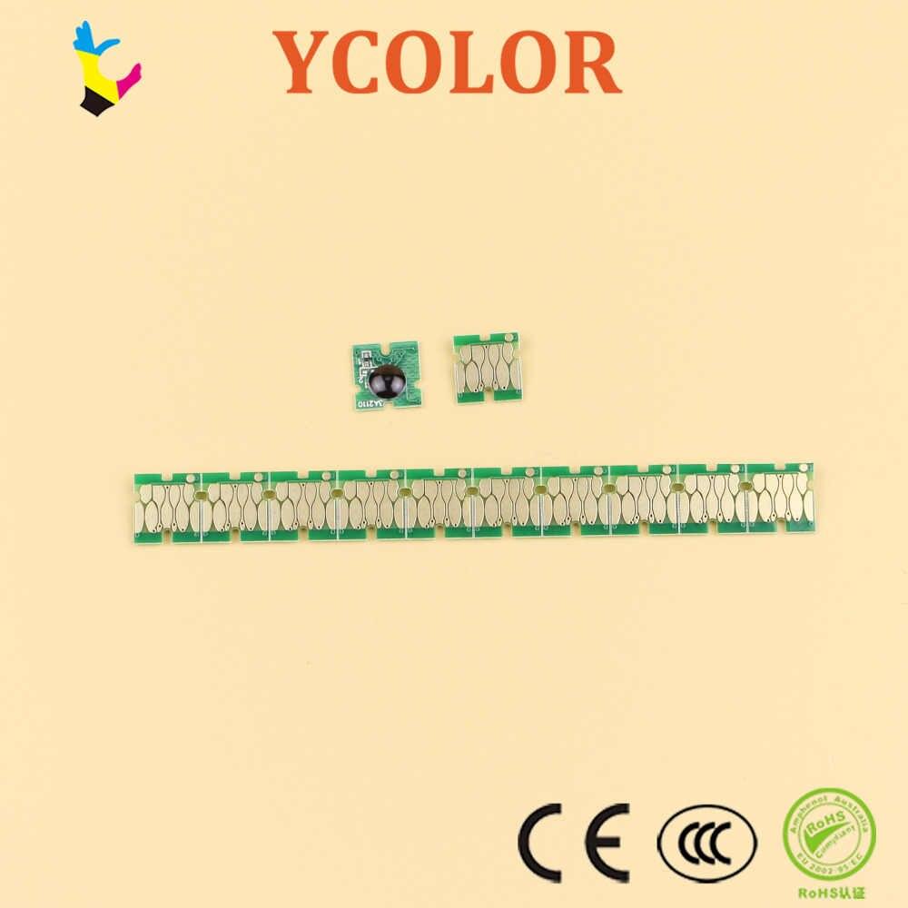 엡손 surecolor f6070 f7070 f6000 f7000 한 번 폐기물 잉크 탱크 칩 t6193에 대 한 5 개/몫/많은 유지 보수 탱크 칩