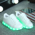 USB Charging Kids Basket Led slippers Children bambas Shoes With Led Light Up Casual Shoes For Boy&Girl tenis led simulation