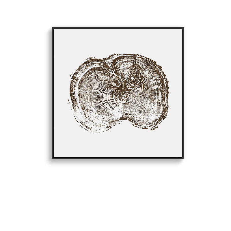 Nordic INS time annual ring abstract decorative paintings Simple and modern Hotel home Entrance Hanging pictures Wall painting in Painting Calligraphy from Home Garden