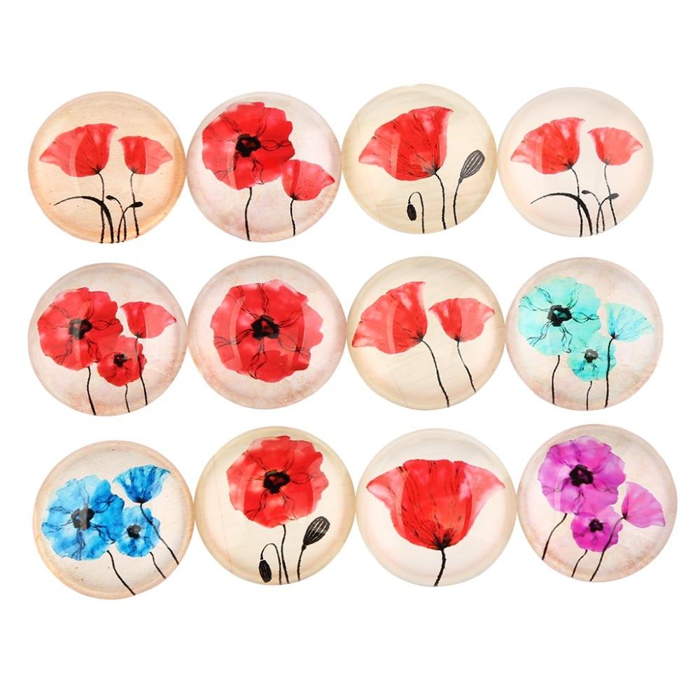 Detail Feedback Questions About Onwear 50pcs Poppy Flower Pattern