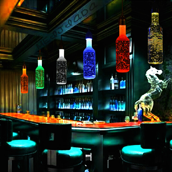 Modern fashion led crystal bar lamp pendnat lights beer bottles modern fashion led crystal bar lamp pendnat lights beer bottles art restaurant decor ysl 002b mozeypictures Image collections