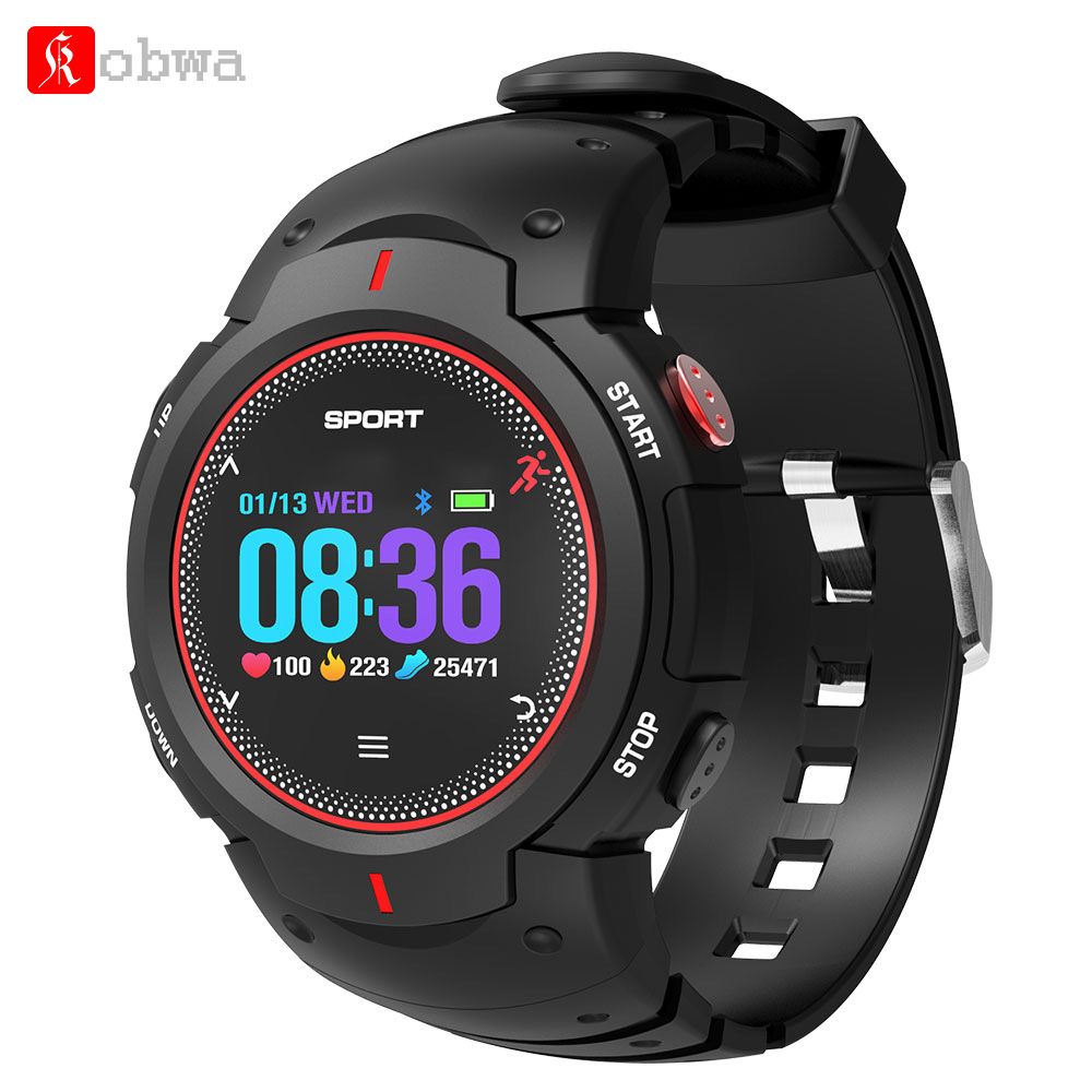 Kobwa F13 Smart Watch 1 inch TFT Colorful Screen Bluetooth Remote Camera Sleep Monitor Waterproof Smartwatch For IOS Android image