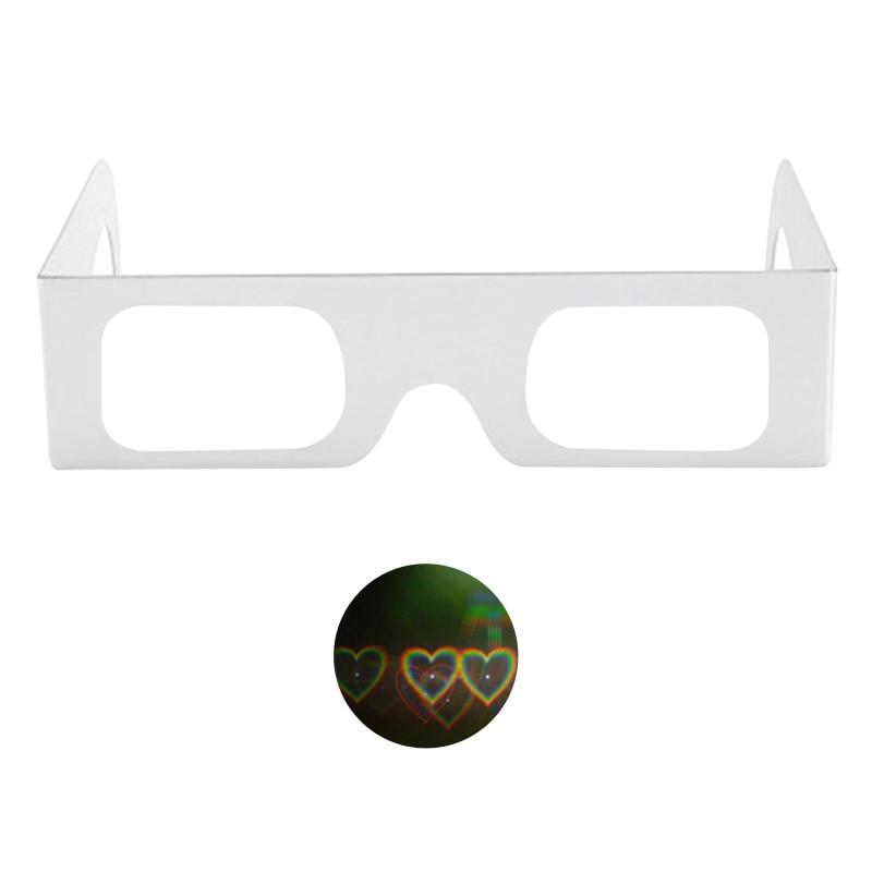 heart clear lens