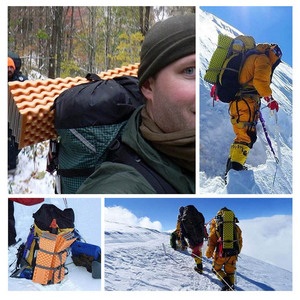 Image 5 - Naturehike Camping Mat Cushionเครื่องมือกลางแจ้งUltralightน้ำหนักเบาอลูมิเนียมไข่พับแบบพกพาความชื้นหลักฐาน