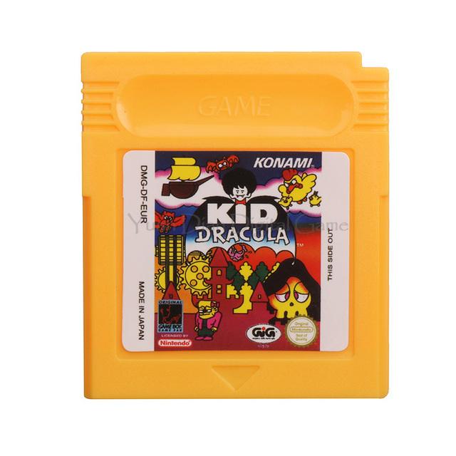 Nintendo GBC KID Dracula English Language Edition