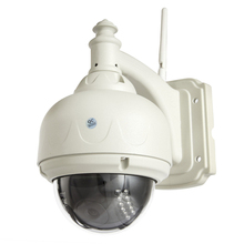 720P video H.264 15 meter night vision  4x digital zoom Onvif Protocol motion email alarm network wireless ip security camera
