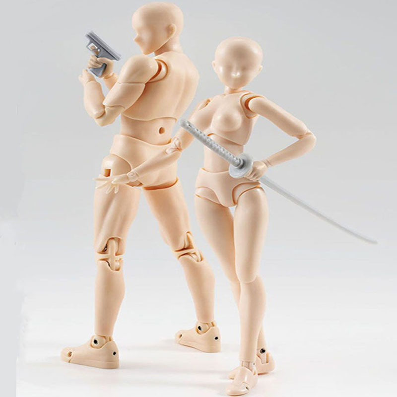 artist art painting anime figure shf sketch draw male female movable