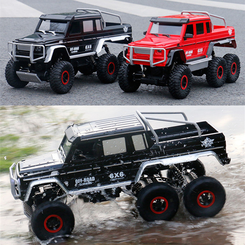 Rc Rc: RC Car 1:10 6WD 2.4Ghz Remote Control Off Road Truck