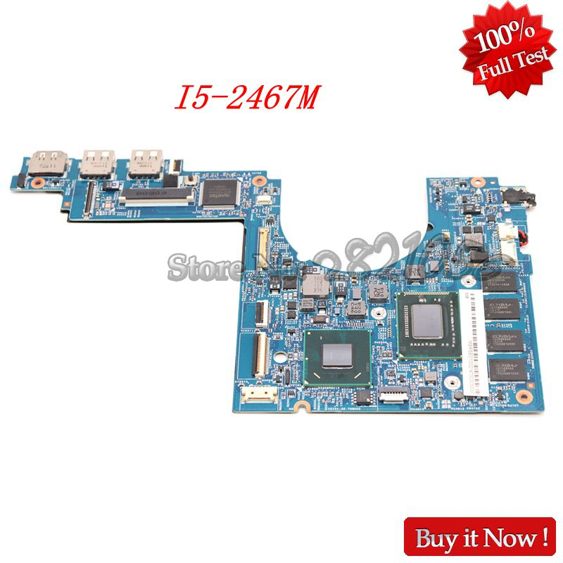 NOKOTION 48.4QP01.021 Laptop Motherboard For Acer Aspire S3 951 MS2346 I5-2467M CPU SM30-HS MB MBRSE01002 Mainboard