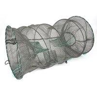 1 pc Crabe Écrevisses Homard Catcher Pot Piège Poissons Anguille Net Crevettes Crevettes Appâts Vivants Vente Chaude
