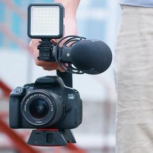 Image 5 - Ulanzi estabilizador con soporte de zapata fría Triple u grip, equipo de agarre para estudio fotográfico con micrófono para Dslr, Nikon, Canon, Smartpho