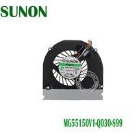 도매 및 소매 acer aspire 3935 시리즈 노트북을위한 새로운 원래 cpu 냉각 팬 sunon MG55150V1-Q030-S99 dc 5 v 0.9 w 4pin 4 wires