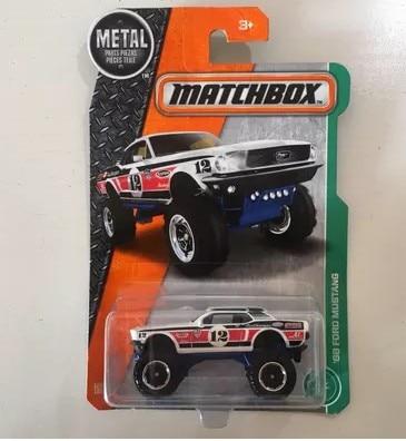 Matchbox Arabalar Şerif Metal Döküm 1: 64 oyuncak modeli minyatürleri arabalar Mustang POLIS çocuk noel hediyesi