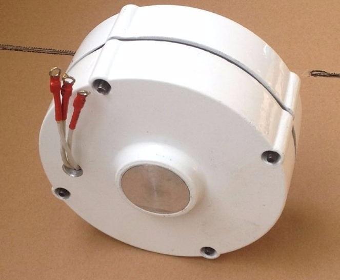 do gerador alternador ímã permanente