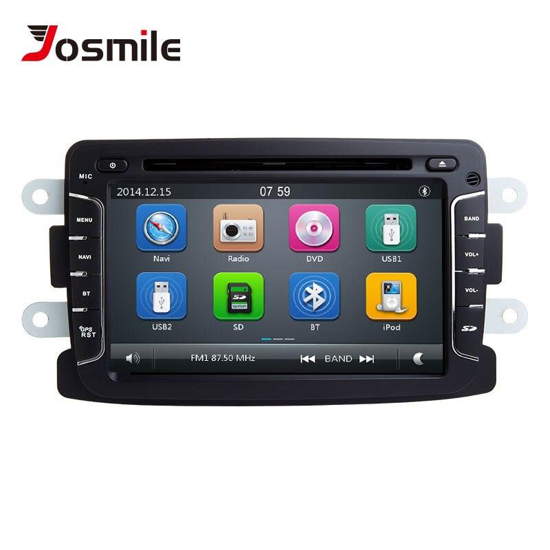 2 din GPS DVD voiture lecteur multimédia pour Dacia Dokker Duster Renault Lada Xray Dacia Sandero 2 logan Captur 2 Navigation Radio 3G