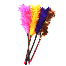 KuZHEN 1Pcs Colorful Long Soft Magic Feather Duster Household Cleaning Dust Dusters For Cabinets Cosets Wardrobes On Sell
