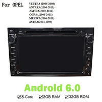 1024 600 Android 6 0 RAM 2G ROM 32G 8 Core GPS Navi Car DVD Player