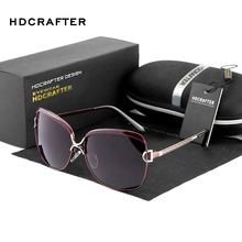 HDCRAFTER Fashion Luxury Ladies Designer Vintage Cat eye Sun Glasses Polarized  Driving Sunglasses Oculos masculino For Women 16