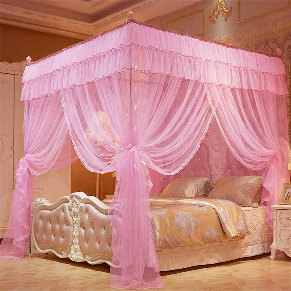 - 1.5*2 M Elegant Mosquito Net For Double Bed Canopy Insect Reject