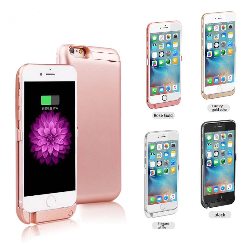 bilder für 10000 mah wireless clip batterie aufladeeinheitsenergienbank fall telefon halter für apple iphone 6 6s 6 plus 5g