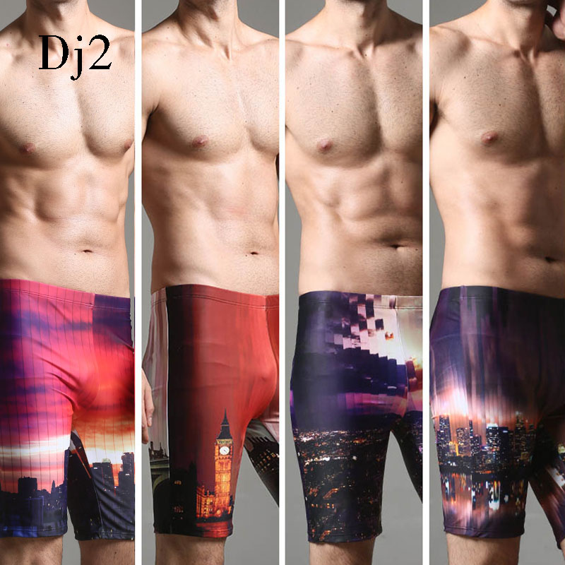 2017 Hot Sale Men Beach Shorts Summer Board Shorts Loose Short Print Summer Pants High Quality Swimwear Men Swimming Suits L-3XL