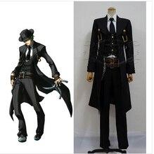 BlazBlue Hazama Yuki Terumi Cosplay Costume full set free shipping