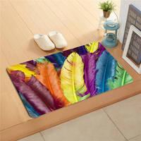 ¡K &! 150 Custom hermoso paisaje plumas # Doormat decoración del hogar alfombra de la puerta del piso alfombrillas de baño pad J-725F150wb