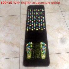 Лидер продаж красочные пластик Массажный коврик для ступней рефлексологии ходить камень Акупрессура коврики Pad Massageador для ног боли