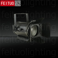 4pcs/lot 100w LED Fresnel Light Warm|Cool White|RGBW 4IN1 Stage DMX Zoom Spot Light Film Audience Theater Profile Lighting