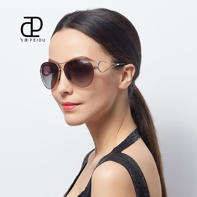 FEIDU Marca Nuevas gafas de Sol de Las Mujeres Diseñador de la Marca de la vendimia gafas de sol Mujer Gafas de Moda de alta calidad gafas