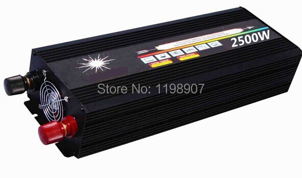 2500w pure sine inverter 2500W pure sine wave inverter 24v 240v 60hz power supply peak 5000W DC12V 24V 48V 50Hz 60Hz