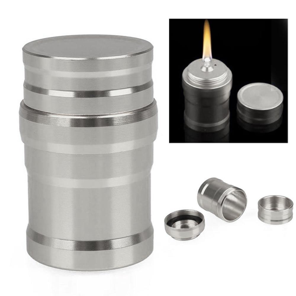 Серебро 4,5*2,6 см жидкие печи на открытом воздухе алюминиевый корпус лабораторная Спиртовка Мини Кемпинг спиртовая Лампа портативный барбекю выживания
