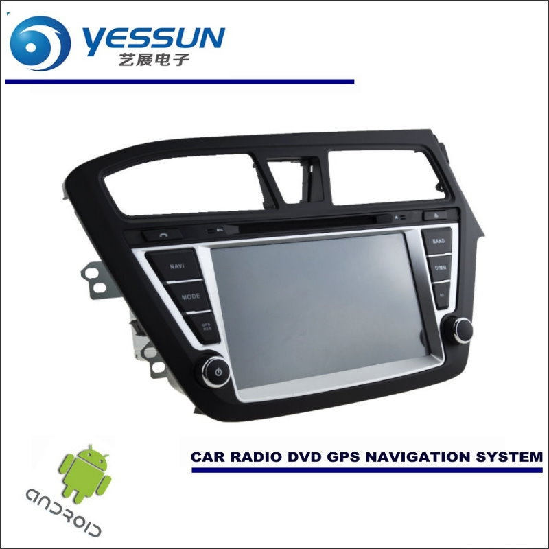 yessun car android navigation system for hyundai i20 elite i20 2014 2017 radio stereo cd dvd. Black Bedroom Furniture Sets. Home Design Ideas