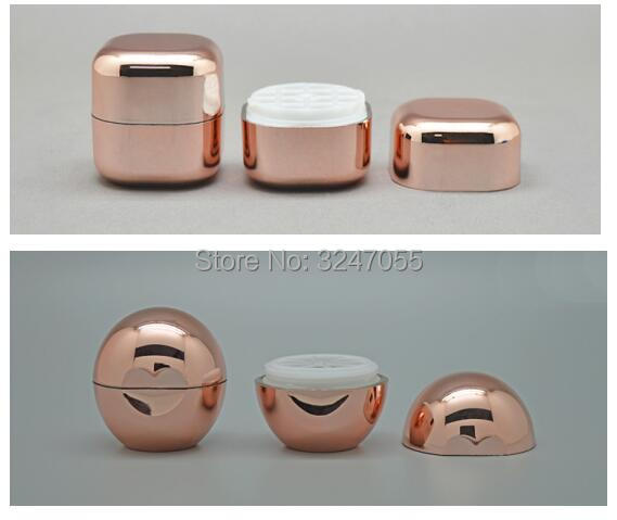 10/30/50pcs Plastic Rose Gold Empty Lip Balm Container, Creative Cute Lipstick Sub Package, Portable Cosmetic Lip Rouge Bottle free shipping 12 1mm 10 20 50pcs lot rose gold cuboid high grade lipstick tube with transparent cap empty lip balm container