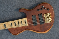Super deluxe 6 strings Electric Bass guitar, Active Pickups smith bass, Gold hardware free shipping