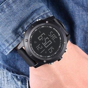 PANARS Fashion Men Digital Watch Outdoor Sports LED Alarm Clock Wrist Watch Waterproof Dual Time Relogio Masculino