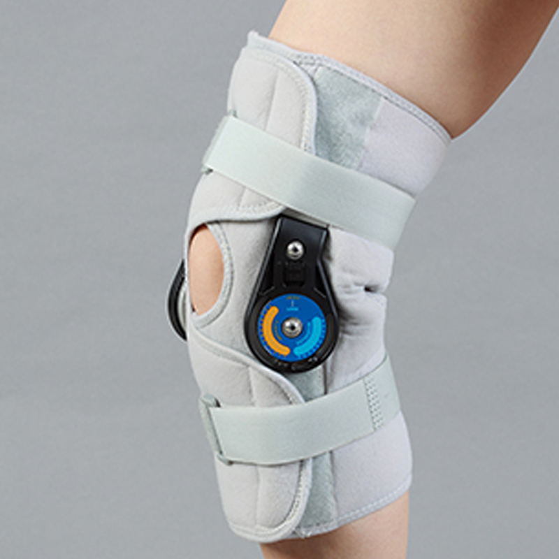 Hinged Patella Support Knee Pad Adjustable Hinged Knee Brace Adjustable Knee Joint 2018 New Free shipping knee patella sport support guard pad protector brace strap stabilizer protection white