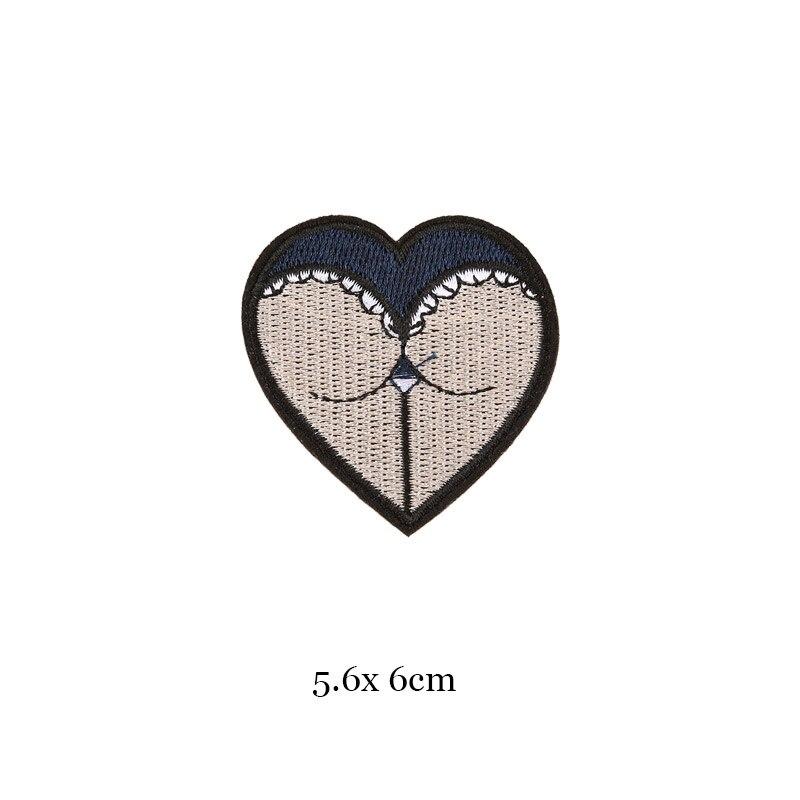 1 шт., черные, белые байкерские нашивки для одежды, железная одежда, аппликация с буквами, Череп, звезда, полосы, вышитая наклейка, круглый значок - Цвет: 14